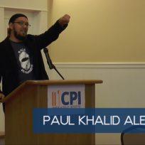 Paul Khalid Alexander SEJ 2017 keynote speech