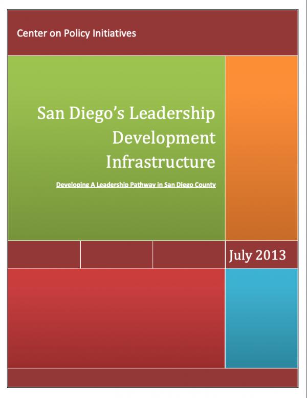 San Diego's Leadership Development Infrastructure (2013)