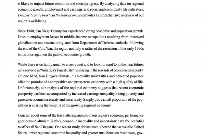 Summary: Prosperity and Poverty in the New Economy (1998)