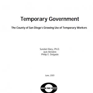 Temporary Government (2001)