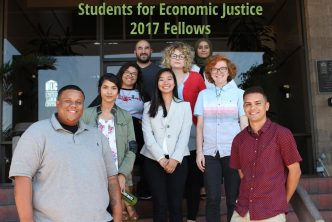 CPI San Diego Students for Economic Justice Fellowship Group Photo 2017